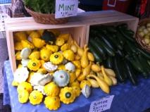 Squash at the market