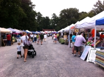 South of the James Farmer's Market.